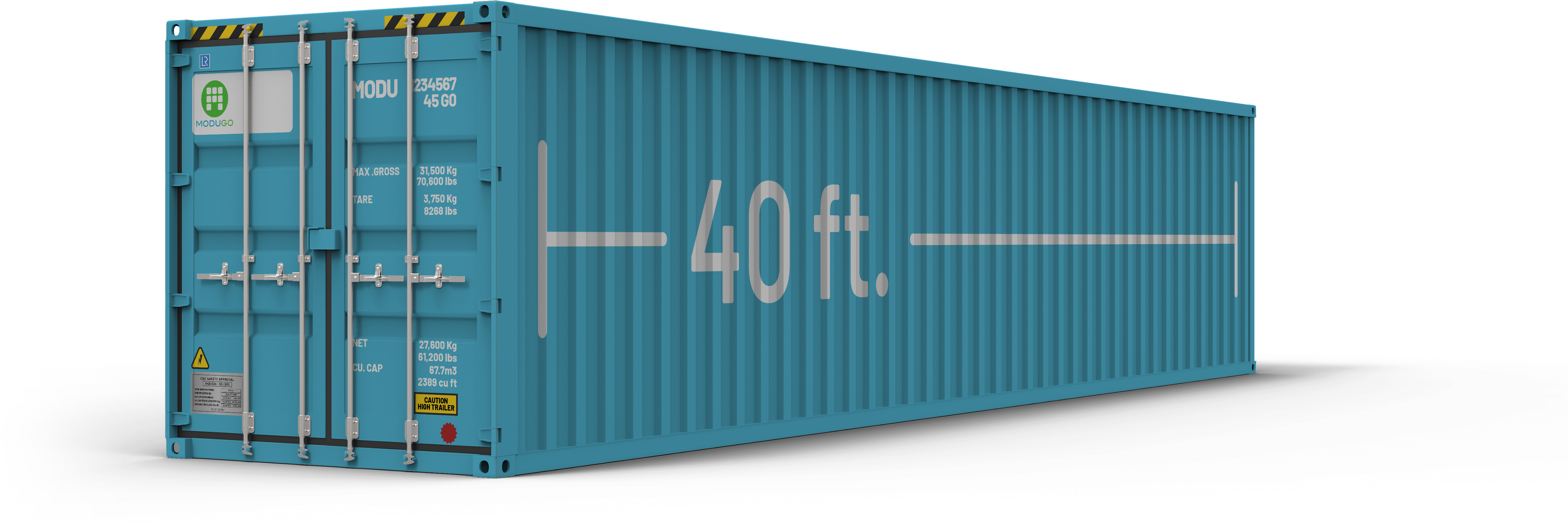 Container 40 foot-Hight-Cube